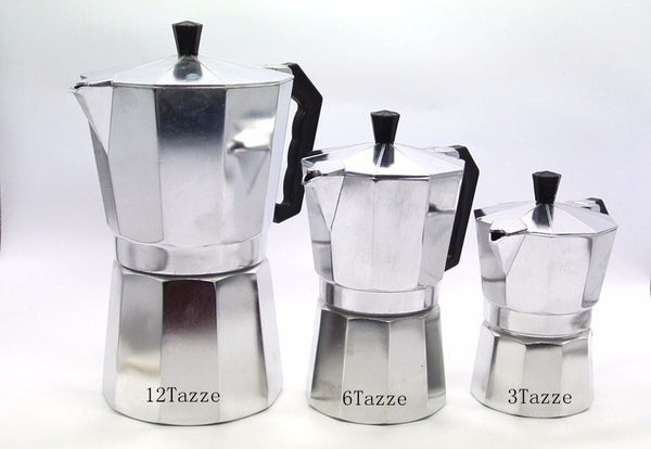 Retro Coffee Percolator -  Just Like Dad's! - 6 Sizes