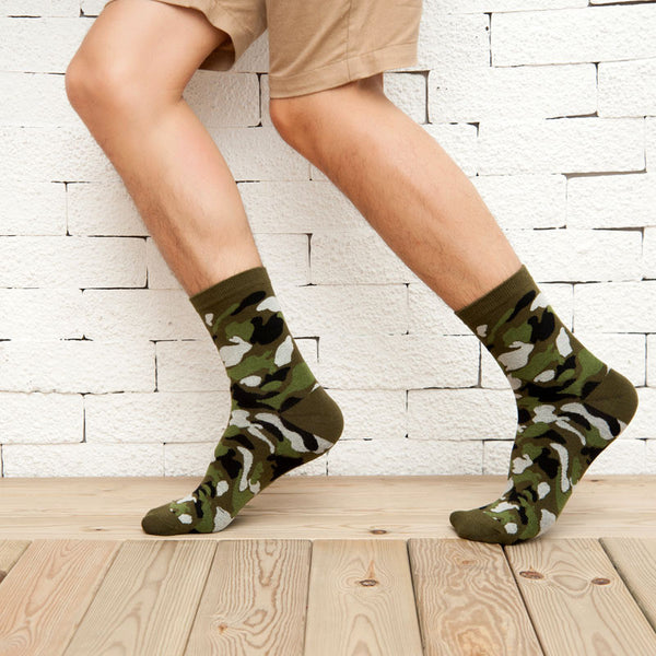 Camo Socks - 5 Colors