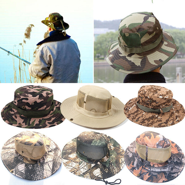 8 Wide Brim Military - Fishing - Hunting Outdoor Hats