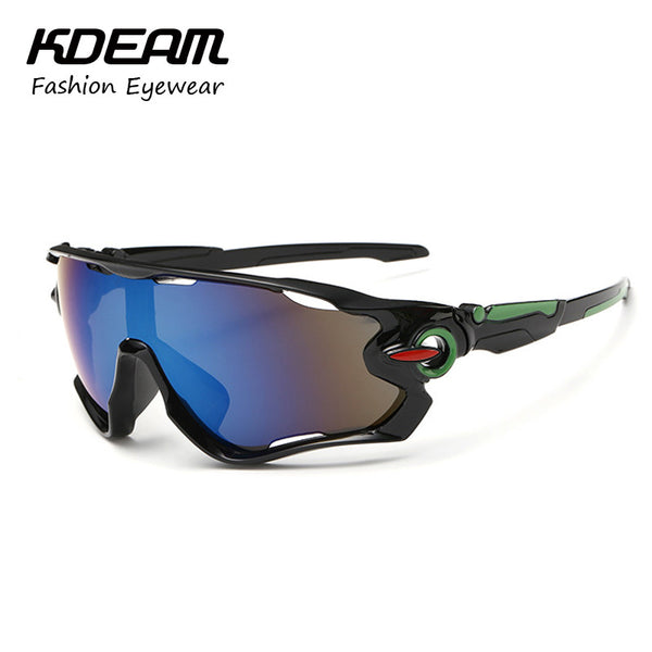 Goggle Reflective Coating HD Lens Sun Glasses UV400 Protection 6 Colors