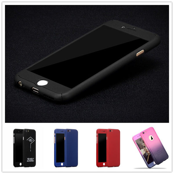 360 Full Body Protection Case- Tempered Glass Screen