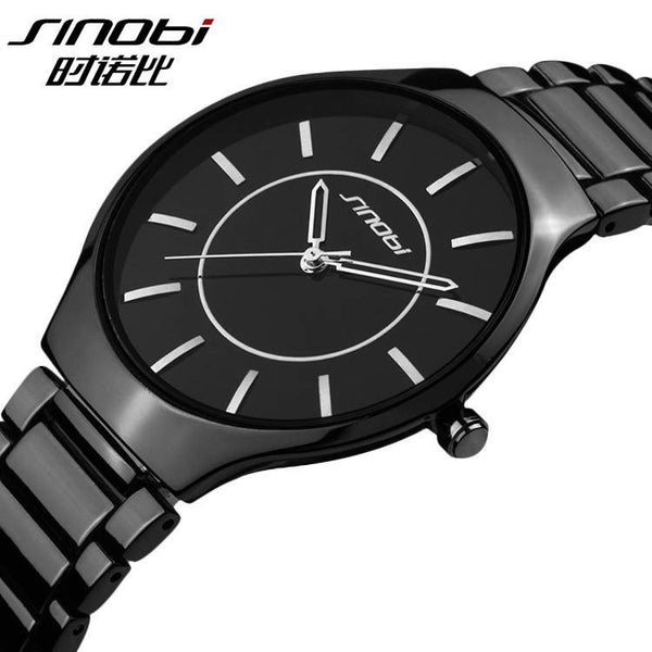 Quartz Steel Casual Wristwatch