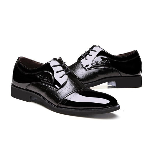 Classic Patent Leather Formal Dress Shoe
