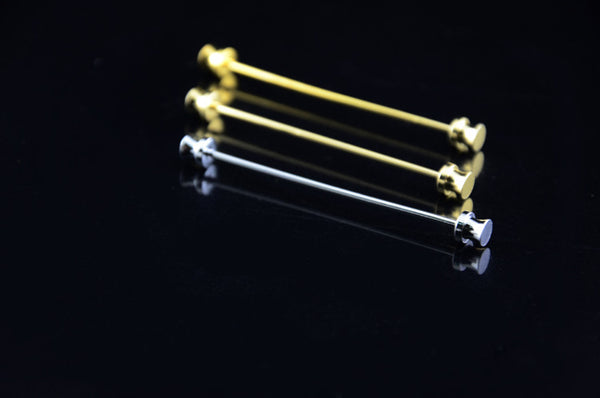 Collar Pins  for French Shirt - Round head