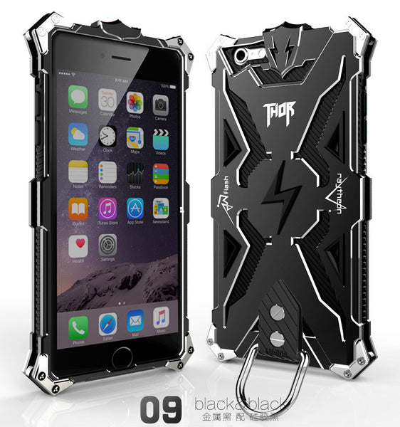 Aluminum Armor THOR IRONMAN Phone Shell for iPhone 6 plus 6plus 5.5inch