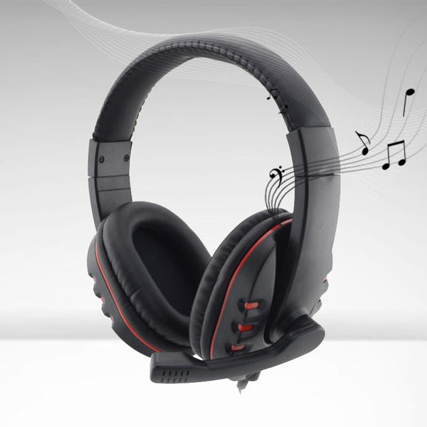 PRO USB Stereo Headphone Microphone with Gaming Headset For PlayStation PS3 PS 3 PC MKLG