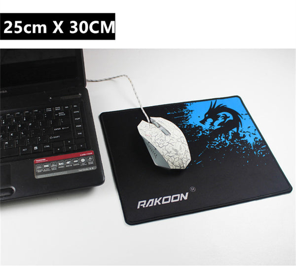 Large Gaming Mouse Pad with Locking Edge - Speed/Control Version  - 6 Sizes