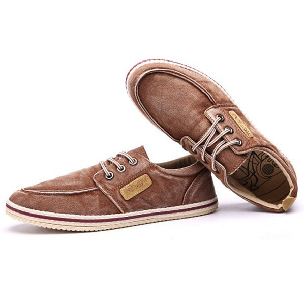 Soft Canvas Moccasin