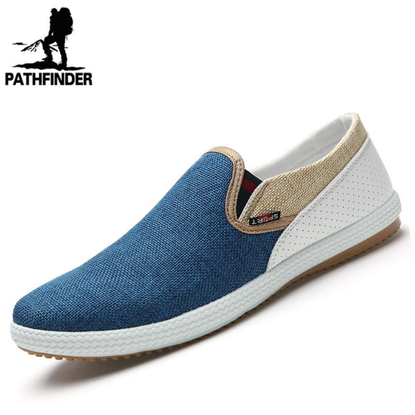 Breathable Canvas Loafer - 3 Colors