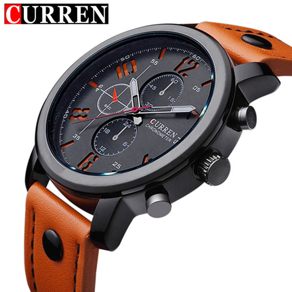 Top Luxury Brand CURREN Casual Quartz Watch