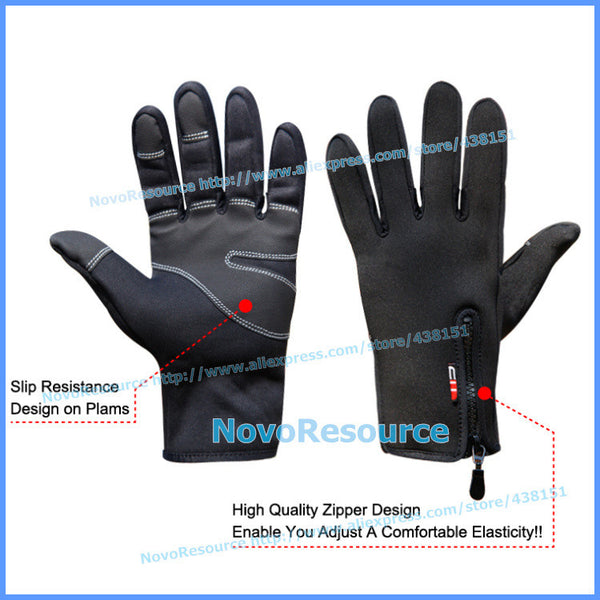 Windproof Outdoor Sport Gloves - S - XL