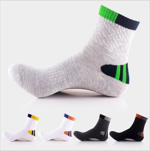 Cotton Breathable Sport Sock -5 Colors