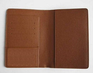 Genuine Leather Passport Cover - 4 Colors
