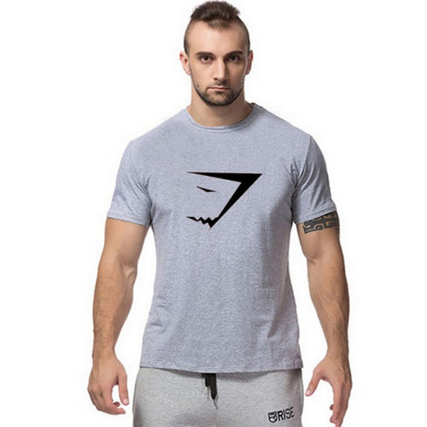 Powerhouse Logo Bodybuilding and Fitness T Shirt - Short Sleeve - M - XXL