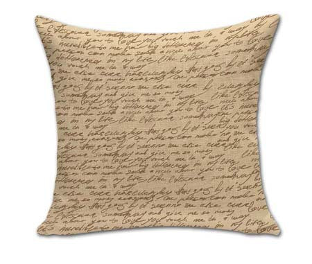 Vintage Map Throw Pillow Covers