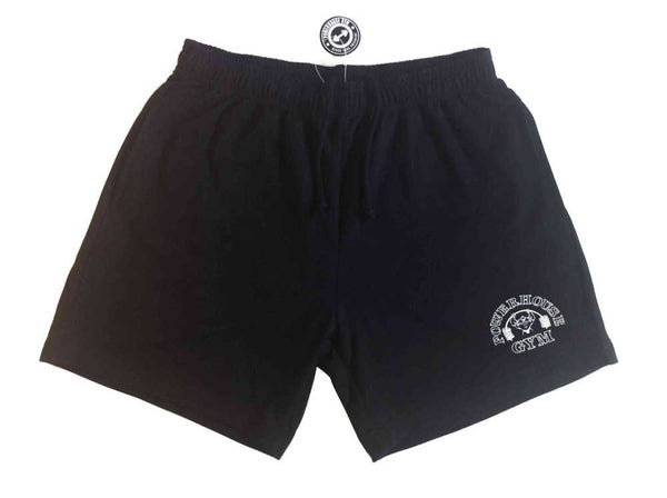 "Gold's Logo & Powerhouse Logo Gym Shorts With Pockets - 5"" Inseam - M - XL"