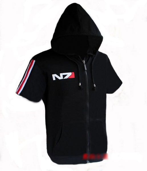 N7 Jacket with Stripe (Long or Short Sleeved) - M - 4XL
