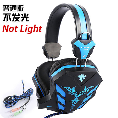 Gaming Headphone USB + 3.5mm with Mic and LED Light