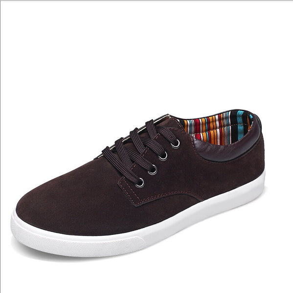 Suede Tennis Shoe