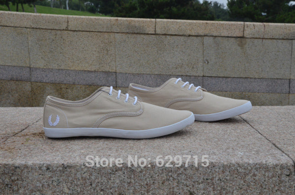 Sleek British Tennis Sneaker