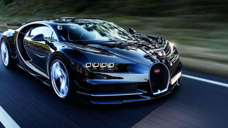 New Bugatti Chiron Hits World Record