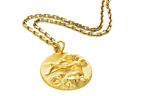 Eros Coin Necklace