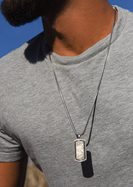 Mens Coin Pendant Jewelry