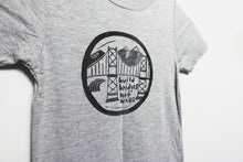 build bridges kids bamboo tee