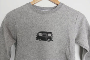 vw van kids sweatshirt