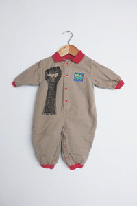 Upcycled Kids 6 Month Vintage Jumpsuit