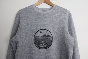 the fort unisex melange sweatshirt