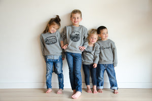 she persisted kids grey sweatshirt