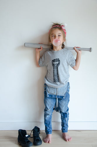 she persisted kids bamboo tee