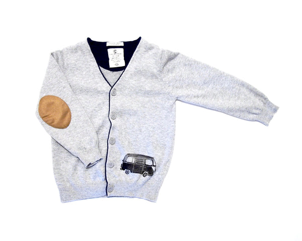 Got Grit Kids Cardigan 3-4Y