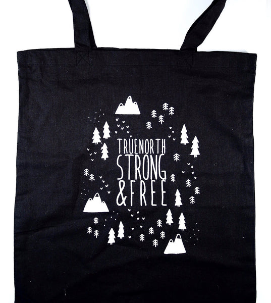True North Strong & Free Tote