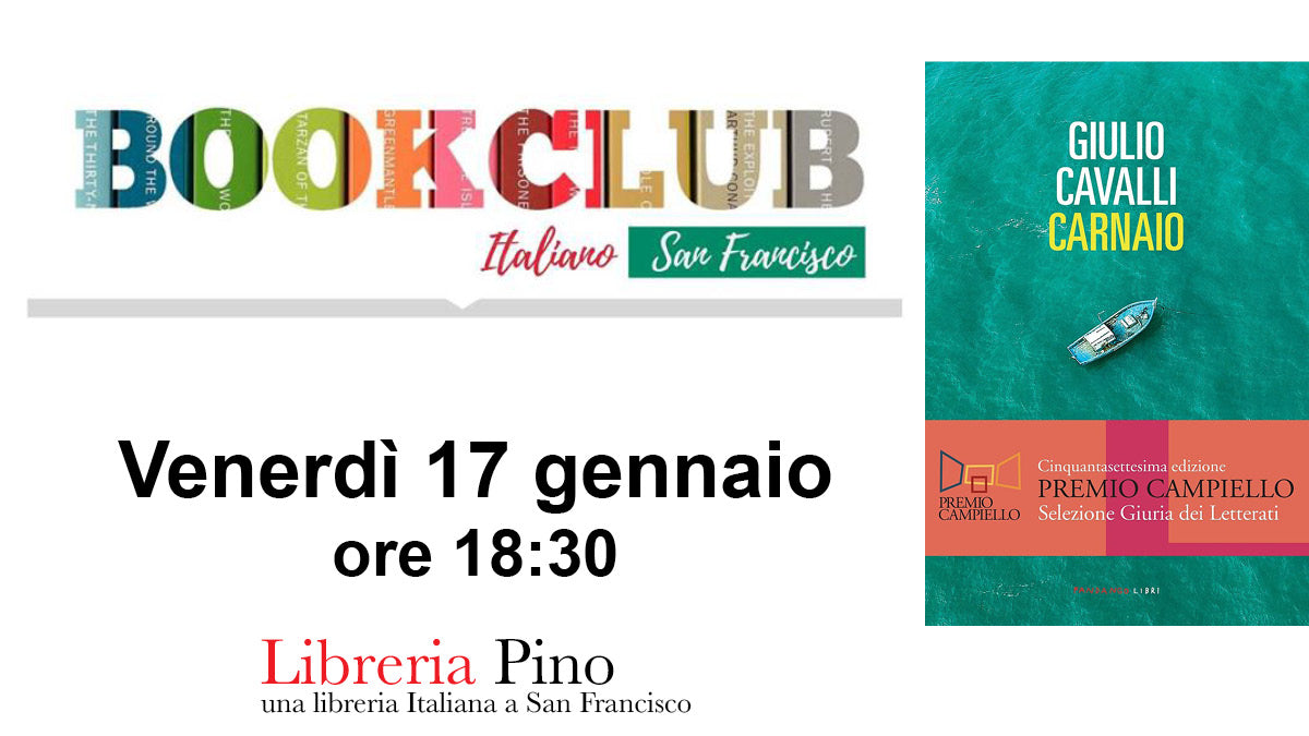 Book Club Italiano alla Libreria Pino