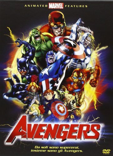 Ultimate Avengers Movie Collection (3 Dvd)
