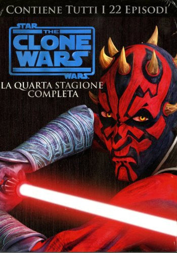 Star Wars - The Clone Wars - Stagione 04 (4 Dvd)