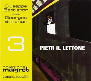 Pietr il Lettone letto da Giuseppe Battiston. Audiolibro. CD Audio formato MP3