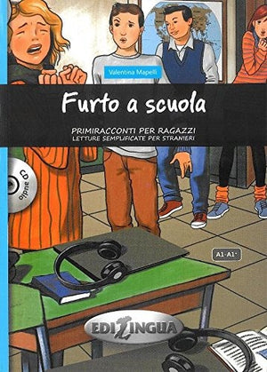 Furto a scuola. Con CD Audio