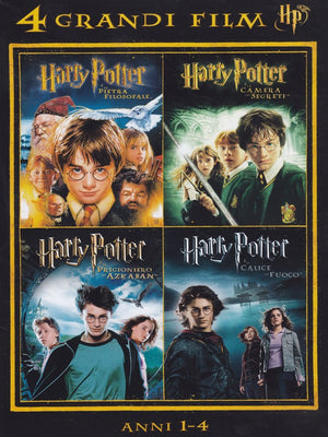 4 grandi film - Harry Potter - Anni 1-4 - Volume 01 (4 DVD)