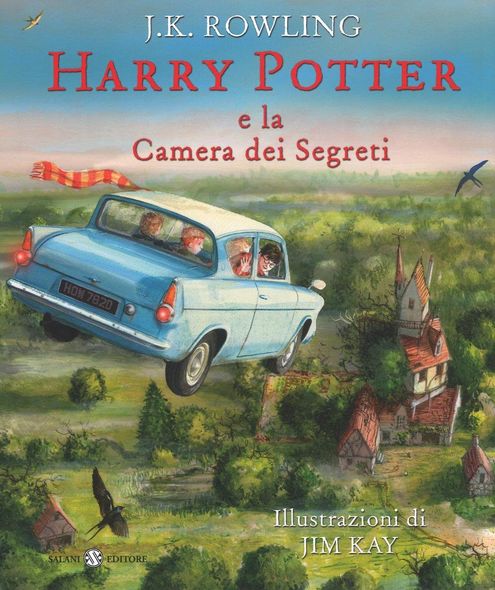 Harry Potter e la camera dei segreti: edizione illustrata a colori