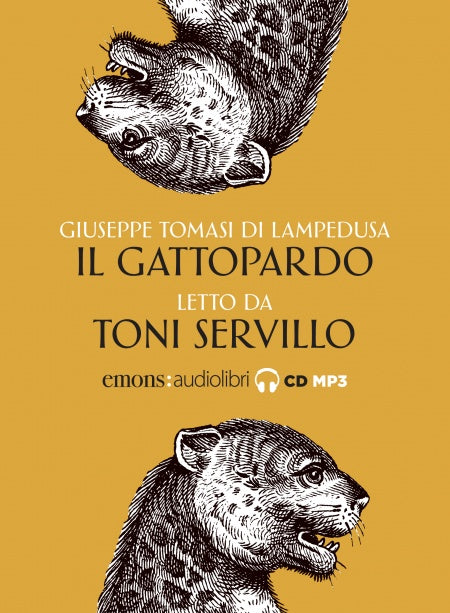Il Gattopardo letto da Toni Servillo. Audiolibro. CD Audio formato MP3