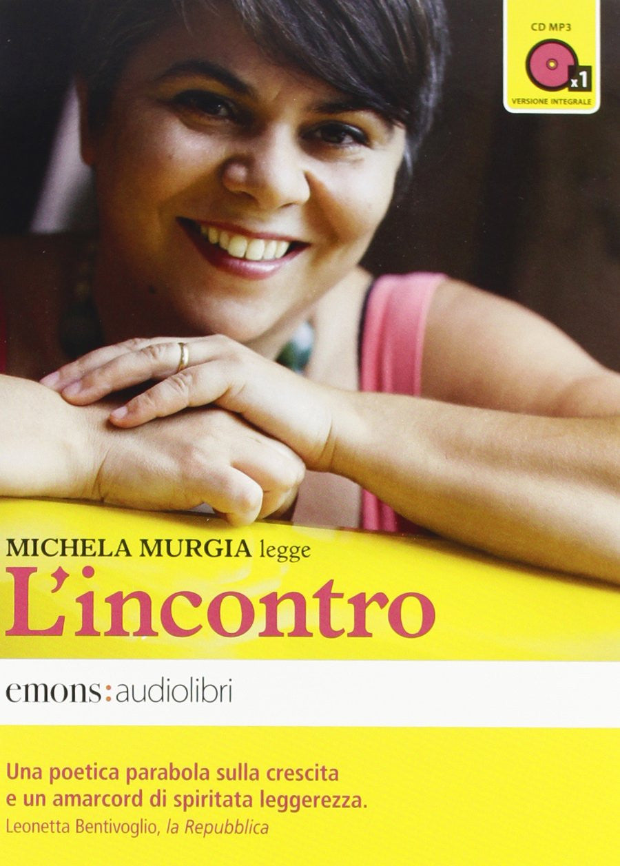 L'incontro letto da Michela Murgia. Audiolibro. CD Audio formato MP3