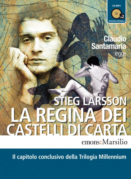 La regina dei castelli di carta letto da Claudio Santamaria. Audiolibro. CD Audio formato MP3