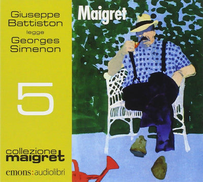Maigret letto da Giuseppe Battiston. Audiolibro. CD Audio formato MP3