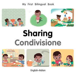My First Bilingual Book–Sharing (English–Italian)