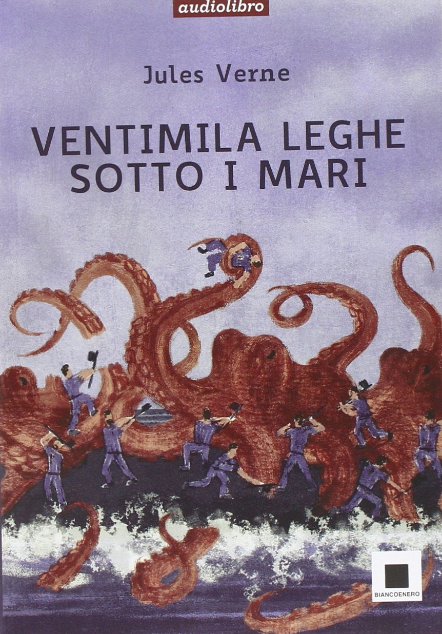 Ventimila leghe sotto i mari. Audiolibro. CD Audio formato MP3