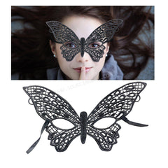 Lace Butterfly Masquerade Mask