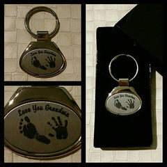 Personalised Keepsake Printed Keyring